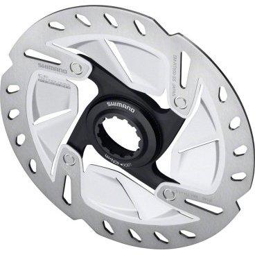 Тормозной диск SHIMANO RT800, 160мм, C.Lock, с lock ring, ISMRT800SТормоза на велосипед<br>Тормозной диск, RT800, 160мм, C.Lock, с lock ring<br>