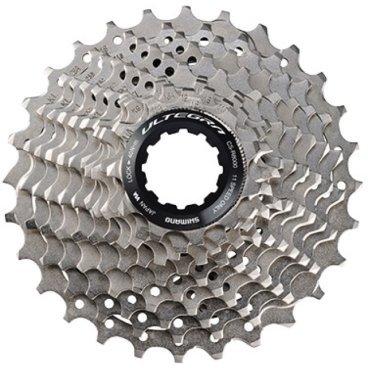 Кассета Shimano Ultegra R8000, 11 скоростей, звезды: 11-28, ICSR800011128Кассеты<br>Бренд: Shimano<br>Тип велосипеда: Шоссейный<br>Серия: Ultegra<br>Звезды: 11-28<br>Количество скоростей: 11<br>