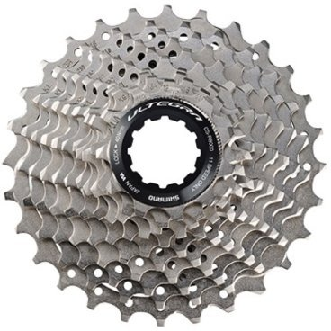 Кассета Shimano Ultegra R8000, 11 скоростей, звезды: 11-30, ICSR800011130Кассеты<br>Бренд: Shimano<br>Тип велосипеда: Шоссейный<br>Серия: Ultegra<br>Звезды: 11-30<br>Количество скоростей: 11<br>