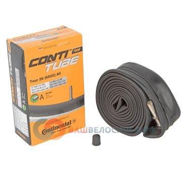 Камера для велосипеда Continental Tour 26, 37-559/47-597, A40, автониппель 01814910000Камеры для велосипеда<br>Tour 26, 37-559 -&gt; 47-597, A40<br>