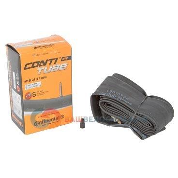 Камера Continental MTB 27.5 Light,  S42 47-584/62-584, велониппель, 01823410000Камеры для велосипеда<br>Continental Камера MTB 27.5 Light S42 47-584 / 62-584<br>