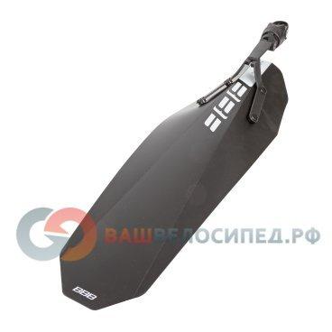 Крыло заднее BBB FatPP material, BFD-35RКрылья для велосипедов<br>Легкое и прочное полипропиленовое крыло для фэтбайков<br><br>-система крепления RingFix позволяет быстро снять и установить крыло на фэтбайк<br>-крепится с помощью одного хомута<br>-вес 186 грамм<br>