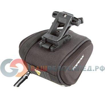 Велосумка TOPEAK Sidekick Wedge Pack, W/Fixer F25 SMALL TC2281BВелосумки<br>Велосумка Topeak Sidekick Wedge Pack Small - подседельная сумочка с одним отделением, выполненная из влагостойкого материала. Имеет панели из прессованной пены, внутренние карманы для экипировки, светоотражающую полосу, крепление для мигалки.<br>Размер: 14 x 11 x 9.5 cm<br>Вес: 110 гр.<br>