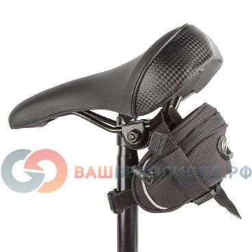 Сумка велосипедная подседельная BBB EasyPack S, черная, BSB-21Велосумки<br>Крепление под седло<br><br>Легко чистится<br><br>Резиновые молния пулер предотвращает дребезжания.<br><br>Светоотражающий логотип BBB.<br><br><br>Размеры:<br><br>Длина: 110мм,<br> <br>Ширина: 50мм,<br><br>Высота: 65мм<br>