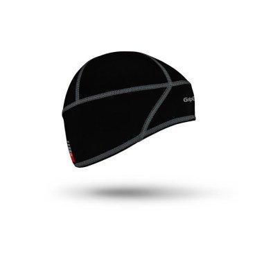 Шапка-подшлемник деитская Skull Cap Junior One Size, черная, 500701001Бандана<br>Шапка-подшлемник  Skull Cap Junior - мягкий и легкий головной убор для детей. Шапка закрывает уши и затылок от ветра, отлично подходит для ношения под велошлемом в холодное время года. <br>Особенности:<br>Изготовлена из мягкой технологичной ткани, которая обеспечивает защиту от холода, обладая при этом замечательными дышащими свойствами<br>Анатомический крой<br>Плоские швы и мягкий материал - непревзойденное сочетание удобства и комфорта.<br>Уход:<br>Машинная стирка с такими же цветами. Не отбеливать. Не сушить в стиральной машине. Не гладить. Не подвергать химической чистке. Не отжимать. <br>Материалы:<br>85% Полиамид<br>15% Эластан<br>Размер: XS (51-54см)<br>