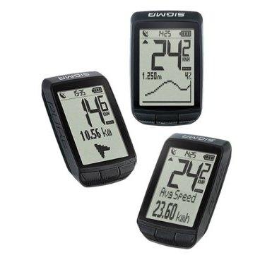 Sigma Sport, Computes, PURE GPS, wirelessВелокомпьютеры<br>Sigma Sport, Computes, PURE GPS<br><br>Описание:<br>PURE GPS - это ваш вход в мир GPS-велосипедов! Здесь простейшая операция соответствует новейшим технологиям. В дополнение к самым важным функциям велосипеда большой дисплей также четко отображает функции высоты, включая графический профиль высоты. Простая навигация по компасу всегда показывает направление к начальной точке или выбранной вами точке.<br><br>Благодаря GPS, вы можете оценить пройденное расстояние в DATA CENTER или SIGMA LINK и, при желании, поделиться им с вашим сообществом.  <br><br>Большим преимуществом велосипедного компьютера с GPS является чрезвычайно простая установка. Прикрепите устройство к рулю, включите его, и все готово. Никаких раздражающих датчиков на велосипеде.<br><br>Связь является важным атрибутом PURE GPS. После поездки подключите велосипедный компьютер к DATA CENTER на вашем ПК, MAC или планшете с помощью кабеля micro USB. Или передайте данные поездки на смартфон Android с помощью приложения SIGMA LINK и NFC. (обратите внимание: NFC должен быть активирован на смартфоне. iPhone не поддерживает соединение NFC.)<br><br>Вы также можете использовать DATA CENTER или SIGMA LINK для внесения изменений в настройки PURE GPS.<br><br>Sigma Pure GPS имеет разъем microUSB для зарядки. Подключение к Sigma Data Center на ПК или Mac также осуществляется через USB-кабель.<br>Sigma Pure GPS имеет   литий-ионной акамулятор  <br><br>Характестики : <br>-Монохромный дисплей 32 мм х 45 мм с подсветкой.<br>-Литий-ионной акамулятор  <br>-Количество функций - 13<br>