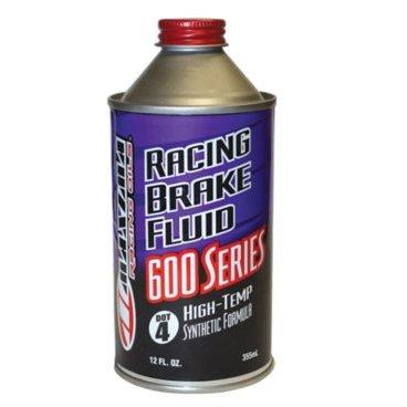 Тормозная жидкость Maxima RACING DOT-4 High Temp Brake Fluid 355mlТормоза на велосипед<br>Тормозная жидкость Maxima RACING DOT-4 High Temp Brake Fluid 355 мл.<br><br>Описание<br>Maxima RACING DOT-4 High Temp Brake Fluid обеспечивает крайне высокую точку кипения 316С° для гонок.<br>Соответствует и превосходит все спецификации OEM и совместима со всеми системами DOT 4 и DOT 3 торможения.<br>