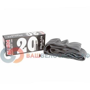 Камера KENDA 20, авто ниппель,  широкая усиленная толщина, стенки 1,3 мм, 5-514433Камеры для велосипеда<br>NEW, 20х4 1/4, широкая, ниппель авто, усиленная, толщина стенки 1,3мм, высокоэластичная бутиловая резина, инд. уп.<br>