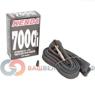 Камера для велосипеда KENDA 28(700х18/25C) узкая спортниппель, 60 мм  5-511491Камеры для велосипеда<br>Камера для велосипеда KENDA 28(700х18/25C) узкая спорт 60 мм <br>700х18-25С, ниппель спортивный 60 мм,  узкая, высокоэластичная бутиловая резина, индивидуальная упаковка<br>Артикул 5-511491<br>