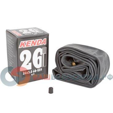 Камера велосипедная KENDA 26x3,00 (68-559), автониппель, широкая, 5-511360Камеры для велосипеда<br>Камера велосипедная KENDA 26x3,00 (68-559), авто, широкая<br>
