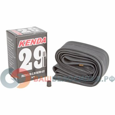 Камера для велосипеда KENDA,  29х1.9-2.35, ниппель авто, 5-511346Камеры для велосипеда<br>Камера для велосипеда KENDA 29х1.9-2.35 (50/58-622) ниппель авто<br>Артикул 5-511346<br>