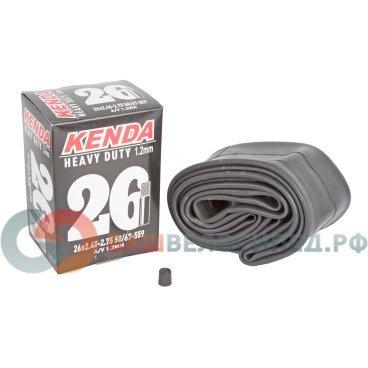 Камера велосипедная KENDA 26 широкая2,30-2,70 (56/67-559) толщина стенки 1,2мм автонипп 5-511335Камеры для велосипеда<br>Камера велосипедная KENDA 26 широкая 2,30-2,70 (56/67-559) толщина стенки 1,2мм авто  <br>Ниппель авто, широкая 2,30-2,70 (56/67-559) усиленная толщина стенки 1,2мм<br>Артикул 5-511335<br>