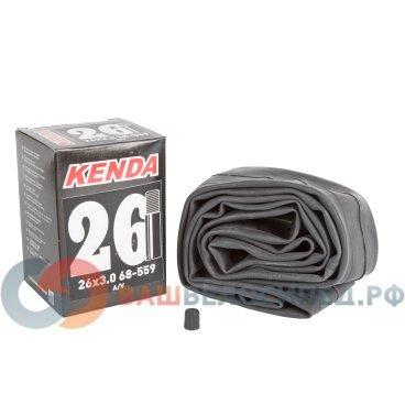 Камера для велосипеда KENDA 26х3,00 (68-559) автониппель широкая  5-510346Камеры для велосипеда<br>Камера KENDA авто широкая. Размер: 26х3,00 (68-559).<br>
