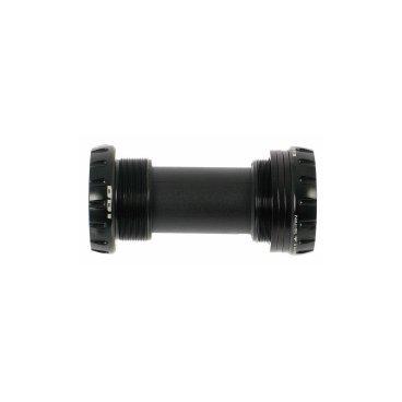 Каретка Rotor BB1 MTB BSA 68/73mm Steel Black (C04-006-01010-0)Велосипедная каретка<br>Каретка Rotor BB1 MTB BSA 68/73mm Steel черная<br><br>Технические характеристики:<br>Применение: кросс-кантри, ендуро, даунхилл<br>Cтандарт: BSA<br> Ширина корпуса : 68 - 73 мм <br>Диаметр оси: 24 мм<br><br>Спецификации:<br>Матриеал промподшипников: сталь <br>Материал чашек: алюминий (7075-T6) <br><br><br>Совместимость:<br>- С шатунами Rotor,  с диаметром оси 24 мм: UBB24 (3D24) <br>- С системами Shimano с диаметром оси 24 мм (Hollowtech II) <br><br>Особенности:<br><br>- 100% обработка на ЧПУ типа CNC <br>- Лабиринтные уплотнение с уникальной защитой от пыли, воды и грязи<br>