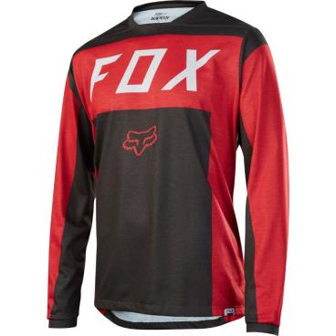 Велоджерси Fox Indicator LS Moth Jersey Red/BlackВелофутболка<br>Велоджерси Fox Indicator LS Moth Jersey красно-черная <br><br>Описание <br>Джерси с длинным рукавом, которое отлично подойдёт для трейлрайдинга и катания в стиле ол-маунтин. Модель отлично дышит и быстро сохнет, а удлинённая задняя часть хорошо прикрывает поясницу во время езды.<br><br><br><br>-Особенности:<br><br>-Материал: 100% полиэстер<br><br>-Швы сглажены для дополнительного комфорта<br><br>-Удлинённая задняя часть прикрывает поясницу во время езды<br><br>-Вставки из сетчатого материала для лучшей вентиляции<br><br>-Оригинальная графика<br><br>-Лоскут для протирки очков на внутреннем шве<br><br>-Выход для наушников<br>-Размер: S, M, L, XL<br>