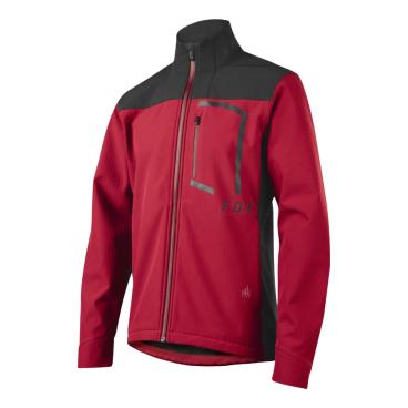 Велокуртка Fox Attack Fire Softshell Jacket Dark RedВелокуртка<br>Велокуртка Fox Attack Fire Softshell Jacket темно-красная <br><br>Описание &lt;<br>Стильная утеплённая куртка, которая отлично подойдёт как для занятий спортом, так и для повседневного ношения. Верх модели выполнен из мягкой эластичной ткани с влагоотталкивающим покрытием C6 DWR; куртка не промокает, отлично дышит и практически не сковывает движений. А благодаря особому покрою под названием RAP (Rider Attack Position) она идеальна для всех любителей MTB.<br><br>Особенности:<br>Материал: Ripstop<br><br>Влагоотталкивающее покрытие C6 DWR<br><br>Мягкая флисовая подкладка<br>Боковые карманы на молниях<br><br>Карман на груди с выходом для наушников<br><br>Светоотражающие элементы в виде логотипов бренда<br>Размер: S, M, L, XL<br>