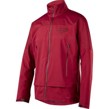 Велокуртка Fox Attack Water Jacket Dark RedВелокуртка<br>Велокуртка Fox Attack Water Jacket темно-красная <br><br>Описание <br>Оригинальная мембранная куртка от Fox, которая надёжно защитит вас от дождя, ветра и снега. Верх модели выполнен из лёгкой синтетической ткани, которая не пропускает влагу, но при этом отлично дышит. Куртка дополнительно обработана влагоотталкивающим составом C6 DWR, а благодаря особому покрою под названием RAP (Rider Attack Position) она идеально подойдёт для катания на велосипеде.<br><br>Особенности:<br><br>Материал верха: 3L<br><br>Мембрана: TruSeal, 10000/10000мм<br><br>Влагоотталкивающее покрытие C6 DWR<br><br>Вставки из эластичного текстиля на плечах и подмышками<br><br>Особый покрой RAP (Rider Attack Position)<br><br>Проклеенные швы и водостойкие молнии<br>Размер: S, M, L, XL<br>