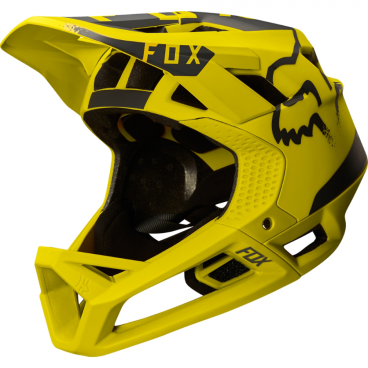 Велошлем Fox Proframe Moth Helmet темно-желтыйВелошлемы<br>Велошлем Fox Proframe Moth Helmet темно-желтый <br>  <br>Описание <br>Proframe – самый лёгкий и вентилируемый шлем типа «фулл-фейс» от Fox,созданный для гонщиков эндуро и любителей агрессивного трейлрайдинга. Он вентилируется почти так же, как открытые шлемы, но при этом подходит даже для даунхила, что подтверждает соответствующий сертификат. Это действительно универсальный шлем, в котором вы сможете уверенно ездить где угодно. Proframe обеспечивает райдеру защитные свойства полноценного даунхильного шлема при сверхмалом весе – это стало возможно благодаря использованию патентованной интегрированной защиты челюсти. Благодаря 24 широким отверстиям для вентиляции этот шлем проветривается почти так же, как модели открытого типа – в нём вы не перегреетесь даже на самых трудных и затяжных подъёмах. А на спуске он придаст вам дополнительную уверенность, чтобы смело проезжать самые жёсткие и техничные участки.<br><br>Особенности:<br>-Самый лёгкий фулл-фейс от Fox: Proframe весит всего 750 граммов (в размере M)<br>-Отвечает требованиям таких стандартов безопасноти, как ASTM F1952, EN 1078, AS/NZ 2063 и CPSC<br>-Интегрированная защита челюсти соединяется с корпусом шлема при помощи особой патентованной системы<br>-Мягкий внутренник шлема хорошо дышит, эффективно отводит влагу от головы и обладает антимикробными свойствами<br>-Благодаря 24 широким отверстиям для вентиляции Proframe – один из самых лёгких и вентилируемых шлемов, пригодных для даунхила<br>-Фиксированный козырёк расположен таким образом, чтобы обеспечить максимальный приток воздуха к отверстиям для вентиляции<br>-Застёжка Fidlock очень надёжна, при этом она моментально открывается и закрывается<br>-Проверенная временем система MIPS (Multi-directional Impact Protection System)обеспечивает эффективную защиту при косых ударах и резких вращениях головы<br>-Пеноматериал Varizorb дополнительно улучшает защитные свойства шлема<br>Размеры: S (54-56 cм), M (57-60