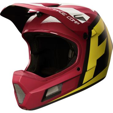 Велошлем Fox Rampage Comp Creo Helmet желто-черныйВелошлемы<br>Велошлем Fox Rampage Comp Creo Helmet желто-черный <br><br>Описание <br>Rampage Comp – отличный выбор для тех, кто ищет современный и технологичный фулл-фейс, но не готов отдавать баснословные суммы за карбоновые шлемы. Корпус данной модели выполнен из стекловолокна; одиннадцать больших отверстий для вентиляции обеспечивают оптимальную циркуляцию воздуха вокруг головы, а специальные усиления в области челюсти – большую жёсткость конструкции и, как следствие – более эффективную защиту. Кроме того, одна из ключевых особенностей данного шлема – наличие воздуховодных каналов внутри пенопластовой прослойки, что, разумеется, дополнительно улучшает вентиляцию. Корпус Rampage Comp выпускается в двух размерах, а пенопластовый внутренник – в трёх, таким образом, подобрать оптимальный для вас размер шлема не составит труда. И сидеть шлем будет не менее удобно, чем дорогие карбоновые модели.<br><br>Особенности:<br>Материал корпуса: стекловолокно<br>Дополнительные рёбра жёсткости в области челюсти<br>11 отверстий для вентиляции<br>Специальные воздуховодные каналы внутри пенопластовой прослойки<br>Размеры: S (54-56 cм), M (57-60 см)<br>