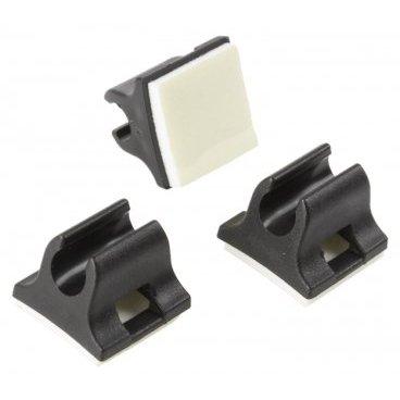 Направляющая M-WAVE для рубашек/гидролиний  ?4-5 мм., пластик, 3шт., 5-370295Тросики и Рубашки<br>Универсальное крепление рубашек, гидролиний M-WAVE, на раму, 3шт в комплекте <br><br>Характеристики:<br>Диаметр ?4-5 мм <br>Материал: пластик<br>