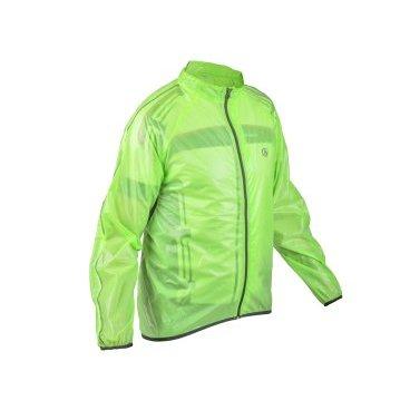 Велокуртка/дождевик AUTHOR RAIN DINTEX, салатовая, на молнииВелокуртка<br>Легкая и экономичная велосипедная куртка, защита от ветра и воды.<br>Материал Dintex TPU.<br>Светоотражающие элементы.<br>Подложка молнии, сетка под рукавами и внутри задней части для лучшей вентиляции.<br>Нижняя часть и конец рукавов с эластичным трубопроводом.<br>