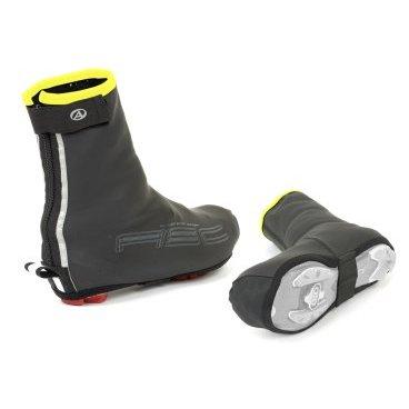 Защита обуви AUTHOR RainProof X6 L, р-р 43-44, черная, 8-7202042Велообувь<br>Когда дело доходит до того, чтоб защитить ваши ноги  от ветра, дождя и распыления колес, вы можете использовать AUTHOR RainProof на всех фронтах. Ткань с покрытием из  PU и швы с лентой обеспечивают полную водонепроницаемую защиту, эластичная ткань также предлагает плотную подгонку и значительно облегчает вход и выход. <br>Водонепроницаемая ткань с покрытием из  PU.<br>Мягкая внутренняя отделка для дополнительного комфорта.<br>Нанесенные швы для полной гидроизоляции.<br>Застежка-молния для дополнительного комфорта.<br><br><br>Светоотражающие полосы для увеличения видимости.<br>Размер: 43-44<br>
