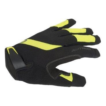Перчатки AUTHOR Men Single T X5, длинные пальцы, дышащий материал, черно-неоновыеВелоперчатки<br>Перчатки AUTHOR Men Single T X5, длинные пальцы, дышащий материал, черно-неоновые<br><br>Материал: эластичный матеиал на верхней стороне. Синтетическая кожа  на стороне ладони.<br>