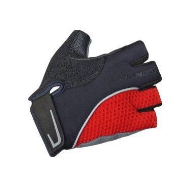 Перчатки AUTHOR Team X6, красно-черные, синтетическая кожа/неопрен, с петелькамиВелоперчатки<br>Перчатки AUTHOR Team X6, красно-черные, синтетическая кожа/неопрен, с петельками<br>Перчатки AUTHOR обеспечивают комфорт и защиту. <br>Эластичная сетка для большой вентиляции, усиленная синтетическая  кожа Amara, которая находится на ладони,  эластична и долговечна.<br>Мягкий абсорбент на большом пальце для легкой очистки от пота.<br>Micro-Injection Velcro обеспечивают комфорт с неограниченным движением запястья.<br>Легкие петли помогают снять перчатки.<br>