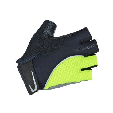 Перчатки AUTHOR Team X6, неоново-желто-черные, синтетическая кожа/неопрен, с петелькамиВелоперчатки<br>Перчатки AUTHOR Team X6, неоново-желто-черные, синтетическая кожа/неопрен, с петельками<br>Перчатки AUTHOR обеспечивают комфорт и защиту. <br>Эластичная сетка для большой вентиляции, усиленная синтетическая  кожа Amara, которая находится на ладони,  эластична и долговечна.<br>Мягкий абсорбент на большом пальце для легкой очистки от пота.<br>Micro-Injection Velcro обеспечивают комфорт с неограниченным движением запястья.<br>Легкие петли помогают снять перчатки.<br>