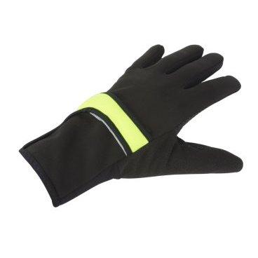 Перчатки Windster Shell X7 2в1 AUTHOR, длинные, утепленные, черно-неоновые, лайкра/флисВелоперчатки<br>Перчатки Windster Shell X7 2в1 AUTHOR, длинные, утепленные, черно-неоновые, лайкра/флис<br>Перманентный перчатка AUTHOR Winsdster Shell X7 предлагает дышащее тепло в ткани лайкры Fleece. Складная накидка  изготовленная из UTRA 3 Tech mebrane для защиты пальцев.<br>Ткань Lycra Fleece для максимального комфорта.<br>Верхняя манжета без бретелек для подгонки под рубашки.<br>Складная крышка из ULTRA III TECH Softshell обеспечивает защиту от ветра и воды.<br>
