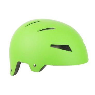 Шлем AUTHOR, универсальный/ВМХ/FREESTYLE Lynx Grn, 10 отверстий, неоново-зеленый, 52-57см, 8-9110323Велошлемы<br>Уличный шлем AUTHOR Mission с системой фиксации HeadBelt позволяет легко, быстро и точно регулировать шлем на голове. Подходит для многих видов активного отдыха (велосипед, скейтборд, роликовые коньки, сноуборд и т. Д.). Антибактериальные сменные подушечки.<br>Размер: 52-57см, 10 отверстий <br> Вес 400г.<br>