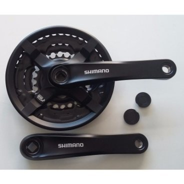 Система SHIMANO FC-TY501, 175мм, 42/34/24T, под квадрат, под 6-8 скоростей, чёрная, AFCTY501E244XLXСистемы<br>Shimano система fc-ty501, 175мм, 42/34/24T, под квадрат, под 6-8 скоростей, чёрная, без упаковки<br><br><br>Число зубьев: 42<br>
