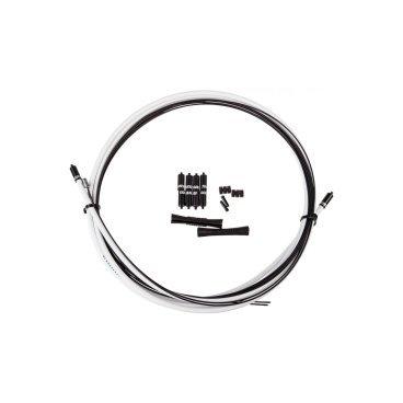 Комплект рубашек и тросиков для переключателя SRAM SlickWire Shift Cable kit 4 мм, белыйТросики и Рубашки<br>Комплект для переключателя SRAM SlickWire Shift Cable kit 4 мм, белый <br><br>Характеристики:<br><br>-Применение: MTB, дорожный <br>-Материал: нержавеющая сталь, с покрытием <br>-Диаметр тросика : 1,2 мм <br>-Диаметр рубашки: 4,0 мм <br>-Длина рубашки: 2115 мм <br>-Длина тросика: 2500 мм<br> <br>Особенности:<br>- кевларовый вкладыш <br>- тросик из нержавеющей стали <br>- очень низкое трение <br>- низкое техническое обслуживание <br>- резиновые защитные кожухи и втулки<br>