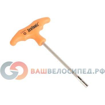 Ключ спицевой Ice Toolz, Т-образная рукоять, 3/6 мм, квадратный ниппель, 12D7Велоинструменты<br>Ключ для спиц 3.6мм Квадратный ниппель.<br>Т-образная ручка с высоким напряжением, до 60N единиц.<br>