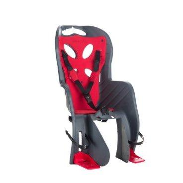Детское велокресло на подседельный штырь NFUN CURIOSO DELUXE, до 22 кг, 01-100083Детское велокресло<br>Велокресло серое, красная увеличенная подкладка, крепится к подседельной трубе, до 22кг, до 7 лет, регулируемая высота подножек, с комфортными трехточечными регулируемыми страховочными ремнями, отражатель на спинке, облегченное, быстросъемное, cертификат T?V (Италия)<br>