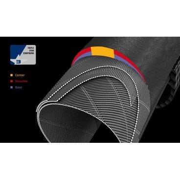 Велопокрышка SCHWALBE PRO ONE MicroSkin, TL-Easy, кевл. 700x25C(25-622)(11600809)Велопокрышки<br>Велопокрышка SCHWALBE PRO ONE MicroSkin, TL-Easy, кевл. 700x25C, (25-622)<br><br>Описание:<br><br>Благодаря запатентованной конструкции MicroSkin, покрышка Pro One Road является быстрой, надежной и легкой. Это лучшая модель от Schwalbe!<br><br>Характеристики:<br><br>Тип: MicroSkin, TL Easy <br><br>Давление: 70-125 PSI      <br><br>Компаунд: OneStar  <br>Корд: стальной   <br><br>Цвет: черный<br><br>EPI: 127<br><br>ETRTO: 25-622<br><br>Вес: 225  г.<br><br>ONE STAR тройной компаунд:<br><br>Трехкомпонентный компаунд такой же как на топовой шине для шоссе Schwalbe One. В его основе новый полимерный материал, который впервые в мире применяется в покрышках для туризма<br>