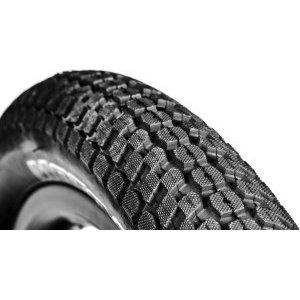 Покрышка велосипедная DMR Moto, 26x2.40, черный, DMR-TR-2624Велопокрышки<br>Классическая покрышка DMR, предназначенная для дёрт-джампинга, стрита и паркового катания. Круглый профиль и близко расположенные шипы обеспечивают низкое сопротивление качению, а глубокий направленный рисунок протектора – оптимальное сцепление на сухом грунте. Благодаря большому объёму, покрышка хорошо смягчает приземления даже при использовании жёсткой вилки.<br><br> <br><br>ОСОБЕННОСТИ: <br><br>Размер: 26х2.4 дюйма<br>Компаунд: 60 TPI<br>Материал корда: сталь<br>Вес: 870 граммов<br>