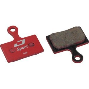 Тормозные колодки Jagwire Sport Semi-Metallic Disc Brake Pad Shimano Road/CX, DCA004Тормоза на велосипед<br>Тормозные колодки Jagwire Sport Semi-Metallic Disc Brake Pad Shimano Road/CX (DCA004)<br>