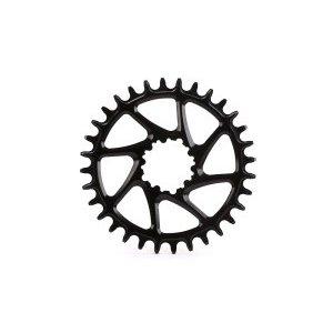 Звезда передняя велосипедная Garbaruk SRAM BB30 Round, 34T, чёрный, 4820034121313Системы<br>Звезда передняя Garbaruk SRAM BB30 Round, 34T, черная<br><br>Описание:<br><br>Широкий спектр круглых звезд с зубьями переменной толщины narrow/wide и различным чейнлайном от Garbaruk — превосходный выбор для тех, кто хочет заменить стандартную звезду на 11-скоростной системе SRAM  с креплением Direct Mount.<br><br>Особенности:<br><br>Материал: сплав алюминия 7075-T651<br><br>Изготовлена путем фрезеровки на станке с ЧПУ<br><br>Покрытие: цветное анодирование<br><br>Совместимость:<br><br> 9-ск, 10-ск, 11-ск или 12-ск. (SRAM Eagle) <br><br>Вес:<br><br>34Т — 63 г<br><br>Чейнлайн (мм):<br> 49 мм, (28-36T)<br>