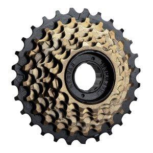 Кассета-трещотка 6 скоростей, 6х14-28Т, высокопрочная легированная сталь, для HG/UG цепей, 00-170043Кассеты<br>Кассета-трещотка 6 скоростей <br> 6х14-28Т, высокопрочная легированная сталь, для HG/UG цепей, коричневая<br>