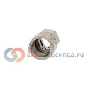Съемник трещотки BIKEHAND YC-201L под 2-а шлица, стальной, серебристый, 6-150201Велоинструменты<br>Съемник трещотки  BIKEHAND, YC-201L, под 2-а шлица<br>Материал - сталь<br>Цвет - серебристый<br>