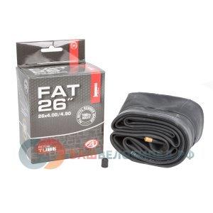 Камера 8-37226011 26 авто 4,00-4,90 (32/57-559) широкая для FAT BIKE (50) AUTHORКамеры для велосипеда<br>NEW, 26х4.00-4.90, 100/120-559, широкая, для FAT BIKE, ниппель авто,  высокоэластичная бутиловая резина, инд. уп.<br>