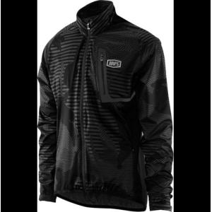Велокуртка 100% Hydromatic Jacket Black CamoВелокуртка<br>Новая куртка от 100%, созданная специально для сырой и холодной погоды. Модель выполнена из эластичного синтетического материала, а основные её особенности – это оптимальный аэродинамичный покрой, мембрана 10000/10000, проклеенные швы и влагонепроницаемые молнии застёжек. Такая куртка не только стильно выглядит, но обеспечит вам комфорт и сухость в любых условиях.<br><br><br><br>ОСОБЕННОСТИ<br><br><br><br>Материал: полиэстер/эластан<br><br>Полностью проклеенные швы<br><br>Влагонепроницаемые молнии застёжек<br><br>Светоотражающие элементы для большей заметности в тёмное время суток<br><br>Прорези для дополнительной вентиляции в задней части<br><br>Особый аэродинамичный покрой<br>