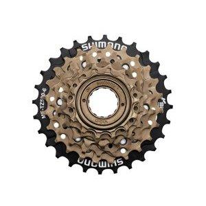 Трещотка Shimano TZ500, 6 скоростей, 14-28T, 487 г, EMFTZ5006428Кассеты<br>Трещотка - Shimano MF-TZ500 Tourney MegaRange для велосипедов с трансмиссией на 6 передач. Имеет крепление на любую заднюю втулку с резьбой, устанавливается и снимается специальным велосипедным съёмником. Является лидером в сегменте бюджетных трещоток, благодаря долгому ресурсу и качественному переключению. <br><br>Диаметр резьбы 35 мм. <br>Тип звезд Трещотка <br>Звезды 14-28T <br>Вес 484 г<br>Дополнительно защита от спиц <br>Бренд Shimano <br>Кол-во скоростей 6<br>