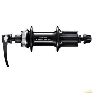 Втулка задняя Shimano Deore M6000, 32 отверстия, 8/9/10 скоростей, C.Lock, QR, EFHM6000BZALВтулки для велосипеда<br>FH-M6000 Задняя втулка FREEHUB под дисковый тормоз (ширина 135 мм)<br>• Прочная и надежная конструкция » Высококачественное уплотнение и радиально- упорные подшипники<br>• Точное, быстрое и плавное переключение » Быстрое зацепление<br><br>Назначение:Горный<br>Производитель:SHIMANO<br>Уровень:Продвинутый<br>Количество спиц :32<br>Тип подшипника: Конусный<br>Тип крепления ротора: Centerlock<br>Тип тормоза: Disс<br>Тип передней оси: QR, 9 mm<br>