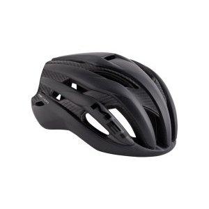 Велошлем Met Trenta 3k Carbon, матовый черный 2018Велошлемы<br>Новый шоссейный шлем от Met, созданный для профессионального использования. Шлем 3K Carbon очень удобен и отлично сидит на голове благодаря эргономичному дизайну, системе застёжек под названием «360» и тонким, хорошо продуманным мягким вставкам внутренника. Этот аэродинамичный шлем хорошо проветривается, а особая зона низкого давления в затылочной части обеспечивает ещё лучшую вентиляцию благодаря эффекту Вентури. Дополнительное преимущество нового шлема – тонкий слой карбона, повышающий устойчивость пенопластового внутренника к механическим повреждениям. Обратите внимание на компактный размер шлема и на его вес – всего 229 граммов.<br><br><br><br>ОСОБЕННОСТИ<br><br><br><br>Новый шоссейный шлем от Met, созданный для профессионального использования<br><br>Удобная система застёжек 360<br><br>Особая зона низкого давления в затылочной части для лучшей вентиляции<br><br>Тонкий слой карбона повышает устойчивость пенопластового внутренника к повреждениям<br><br>Отвечает требованиям стандарта безопасности CE<br><br>Вес: 229 граммов<br>
