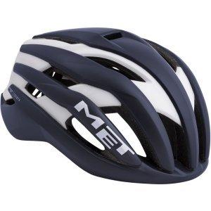 Велошлем Met Trenta, матовый сине-белый 2018Велошлемы<br>Новый шоссейный шлем от Met, созданный для профессионального использования. Стандартная модель Trenta весит чуть больше, чем версия 3k Carbon, но в остальном, это всё тот же высококачественный аэродинамичный шлем, позволяющий снизить сопротивление воздуха во время езды на 7%. Пенопластовый внутренник интегрирован в корпус из высокопрочного поликарбоната, что обеспечивает шлему компактность и низкий вес при хороших защитных свойствах. И, разумеется, данный шлем сертифицирован и отвечает всем требованиям стандарта безопасности CE.<br><br><br><br>ОСОБЕННОСТИ<br><br><br><br>Новый шоссейный шлем от Met, созданный для профессионального использования<br><br>Пенопластовый внутренник шлем интегрирован в корпус из высокопрочного поликарбоната<br><br>Удобная система застёжек Safe-T Orbital<br><br>Аэродинамичный профиль<br><br>Отвечает требованиям стандарта безопасности CE<br>