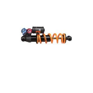 Амортизатор FOX DHX2 F-S TiN 241 x 76.2 ммЗадние амортизаторы на велосипед<br>вес389тип ванныОткрытая масляная ваннаРегулировки внешниеВысокоскоростной и низкоскоростной отскок, высокоскоростная и низкоскоростная компрессия, регулировка жесткости.регулировки внутренниеНеттип пружиныСтальная или титановая пружина(заказывается отдельно)демпферDHX2ход76длина241ДОПОЛНИТЕЛЬНО:REBOUND - ОТСКОКУправление регулировками отскока позволяет контролировать скорость отбоя после сжатия амортизатора.Регулировка скорости отскока красного цвета (REBOUND) зависит от уровня жесткости пружины. Например, более жесткая пружина требует более сильного уменьшения скорости отскока.Регулировка высокой скорости отскока (High-speed Rebound -HSR) необходима, для настройки системы, чтобы она смогла быстро стабилизировать колесо во время сильных ударов, прыжков и жестких приземлений и подготовить амортизатор к дальнейшей обработке ударов. При помощи шестигранного ключа 6 мм вращайте регулировку по часовой стрелке (IN) замедляя высокоскоростной отскок, вращая ключ против часовой стрелки (OUT) ускоряя высокоскоростной отскок.Регулировка низкоскоростного отскока (Low-speed Rebound -LCR) необходима для контроля производительности амортизатора во время торможения ударов, технических подъемов, для уверенного прохождения поворотов, когда необходима дополнительная тяга. Используя шестигранный ключ 3мм вращайте регулировку находящуюся в центре по часовой стрелке (IN) чтобы замедлить низкоскоростной отскок, вращайте ключ против часовой (OUT) чтобы ускорить низкоскоростной отскок.ВНИМАНИЕ!!! Регулировка низкоскоростного и высокоскоростного отскока деликатная процедура! Никогда не оставляйте регулировку в крайнем затянутом ли крайнем открученном положении во избежание заклинивания системы. Вращайте регулировку без усилий.Для правильной настройки поверните регулировки с самую быструю скорость и начните настройку скорости отскока постепенно, проверяя изменение скорости при каждом обороте.Внимание!!! При полность