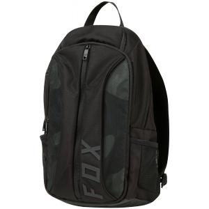 Рюкзак Fox Fusion Backpack Heather, черный, 19549-243-OSВелорюкзаки<br>Удобный и вместительный рюкзак на каждый день, выполненный из устойчивой к истиранию синтетической ткани. Здесь есть большое основное отделение и внешнее отделение на молнии. Основные особенности данной модели – мягкие вставки в задней части и лямках для дополнительного комфорта.<br>