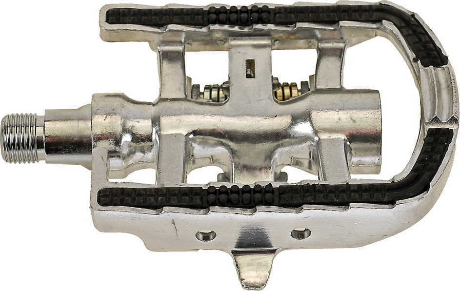 Педали 5-311806 алюминиевые SHIMANO-совместимые серебристые M-WAVE Код товара: 00-00014320  2110 RUB